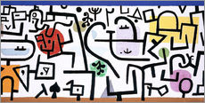 Sticker mural  Rich Harbour - Paul Klee