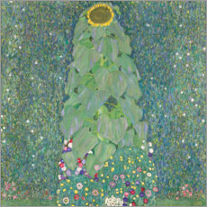 Sticker mural  Le tournesol - Gustav Klimt