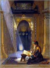 Sticker mural  In the Mosque - Carl Friedrich Heinrich Werner