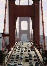 Tableau en plexi-alu  Golden Gate Bridge - Marcel Schauer