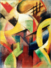 Poster  Small composition I - Franz Marc