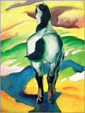 Sticker mural  Blue horse II - Franz Marc