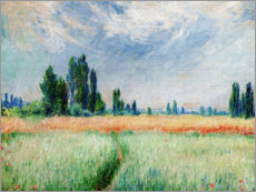Poster  Champ de blé - Claude Monet