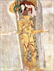 Sticker mural  Le Chevalier d'or - Gustav Klimt