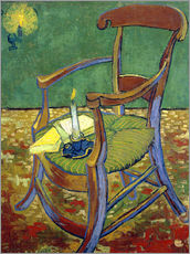 Sticker mural  La chaise de Gauguin - Vincent van Gogh