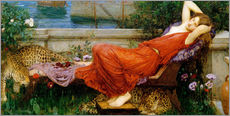 Sticker mural  Ariadne - John William Waterhouse