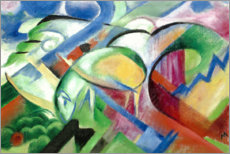 Sticker mural  Mouton - Franz Marc