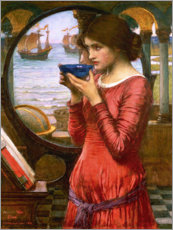 Tableau en bois  Destin - John William Waterhouse