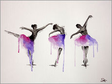 Tableau en plexi-alu  Ballett Pose - Sam Reimann