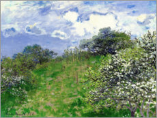 Poster  Printemps - Claude Monet