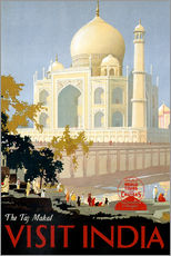 Sticker mural  The Taj Mahal, Visit India - Travel Collection