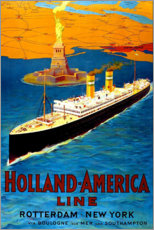 Sticker mural  Holland America Line - Travel Collection