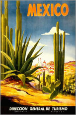 Sticker mural  Cactus mexicain - Travel Collection