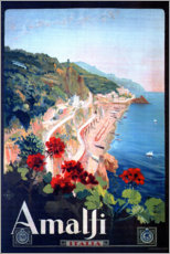 Sticker mural  Amalfi, Italie - Travel Collection