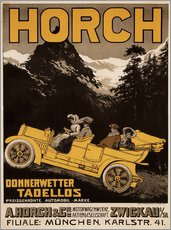 Sticker mural  Voirture Horch - Donnerwetter tadellos - Advertising Collection