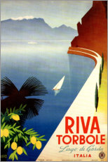 Poster  Riva Torbole, Lago di Garda - Travel Collection