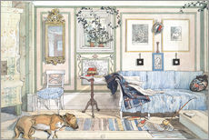 Sticker mural  Coin cosy - Carl Larsson