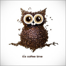Sticker mural  Coffee time - Mario Benz