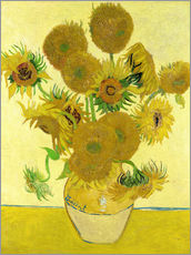 Sticker mural  Les Tournesols - Vincent van Gogh