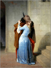 Sticker mural  Le Baiser - Francesco Hayez