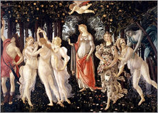 Tableau en plexi-alu  Le Printemps - Sandro Botticelli