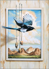 Sticker mural  FREE BIRD - Georg Huber