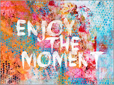 Sticker mural  Enjoy the moment  - Andrea Haase