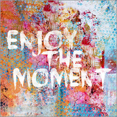 Sticker mural  Enjoy the moment II - Andrea Haase