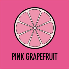 Sticker mural Pink Grapefruit Juice