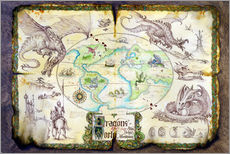 Sticker mural  Dragons of the world - Dragon Chronicles