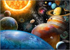 Adrian Chesterman - Planets and Their Moons