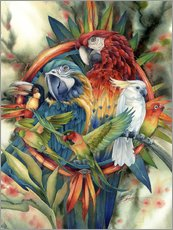 Sticker mural  Life's many colours - Jody Bergsma