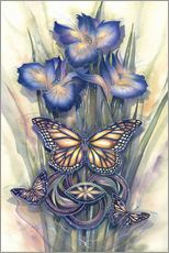 Sticker mural  A new day has come - Jody Bergsma