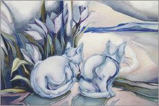 Sticker mural  Miracles come quietly - Jody Bergsma