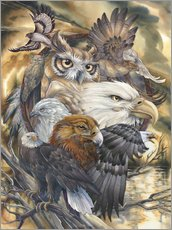 Sticker mural  Sky Kings - Jody Bergsma