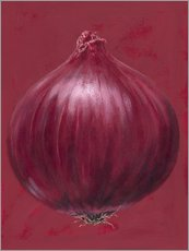 Sticker mural  Red onion - Brian James
