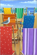 Peter Adderley - Rainbow Deckchairs