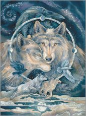 Sticker mural  In spirit - Jody Bergsma