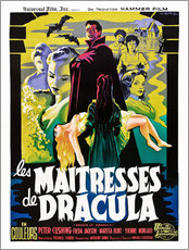 Sticker mural  THE BRIDES OF DRACULA (LES MAITRESSES DE DRACULA), David Peel