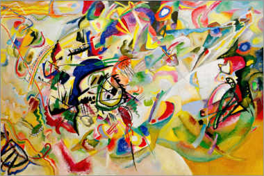 Poster  Composition VII - Wassily Kandinsky