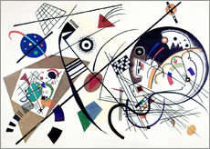Sticker mural  Lignes continues - Wassily Kandinsky