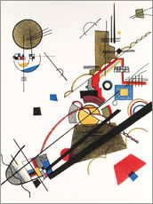 Sticker mural  Ascension joyeuse - Wassily Kandinsky
