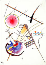 Sticker mural  Composition - Wassily Kandinsky