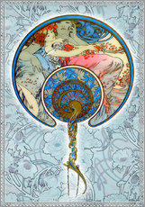 Sticker mural  Figurines Décoratives, Collage - Alfons Mucha