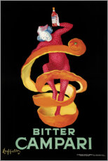 Sticker mural  Bitter Campari - Leonetto Cappiello