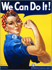 Sticker mural  We Can Do It - Advertising Collection