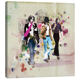 Tableau sur toile  Hippies - Rob Hare