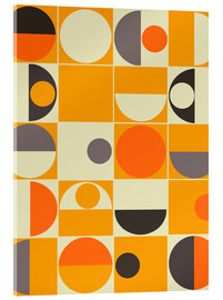 Verre acrylique  Pantone orange - Mandy Reinmuth