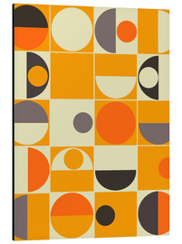 Alu-Dibond  Pantone orange - Mandy Reinmuth