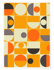 Poster  Pantone orange - Mandy Reinmuth